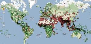 Joshua Project Map