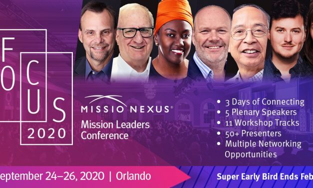10) Just Hours Remaining for Super Early-Bird Registration to Missio Nexus