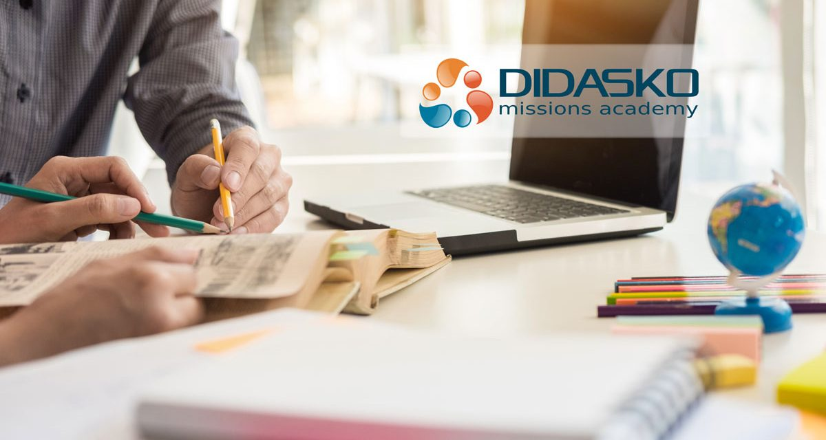 2) Quarantined? Use the time to evaluate Didasko's free missions training!