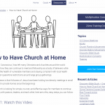 7) Free Training For Your Church Members on How to Have Life Group at Home