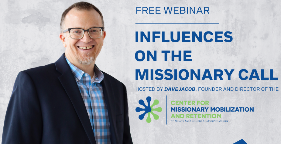 3) Free Webinar on the Missionary Call (Thurs, 16 of Apr)