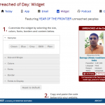 "6) Joshua Project Adds an ""I Am Praying"" Button to Their Unreached People Widget"