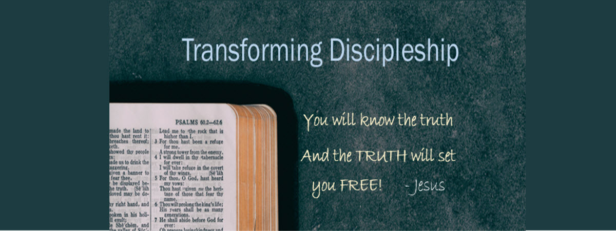 2) Free Online Discipleship Course by Freedom in Christ Ministries
