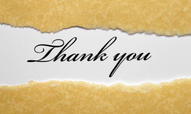 9) We're So Grateful for…