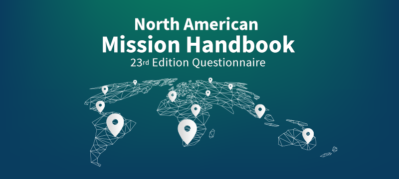 3) Make Sure Your Mission is Anchored in the Mission Handbook (23rd Edition): It's Free!
