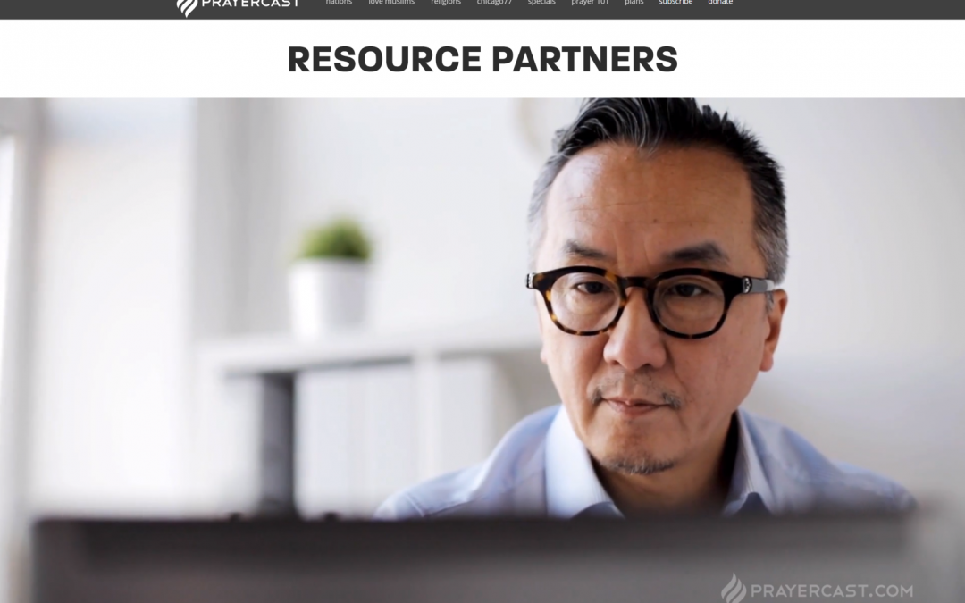 """6) These PrayerCast Guys Have Done it Again: """"Resource Partners"""""""