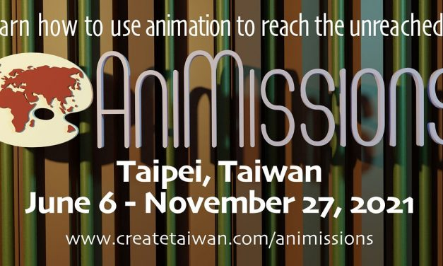 1) New Animation Course from Create International Taiwan