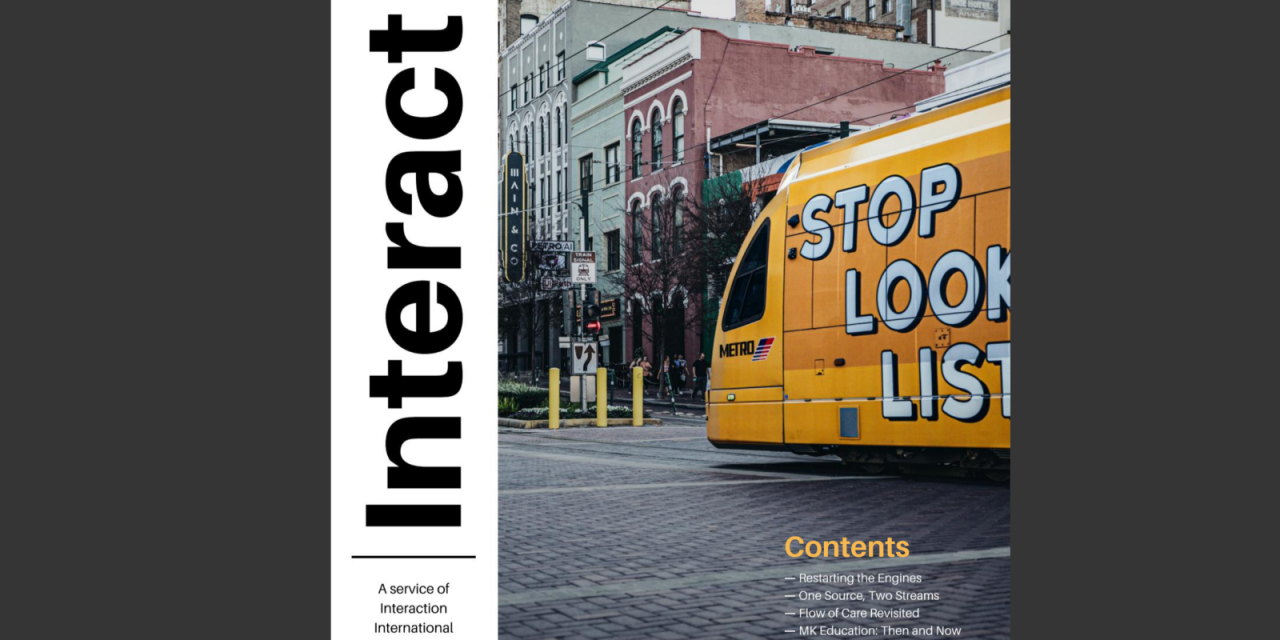 8) Interact Magazine Relaunched