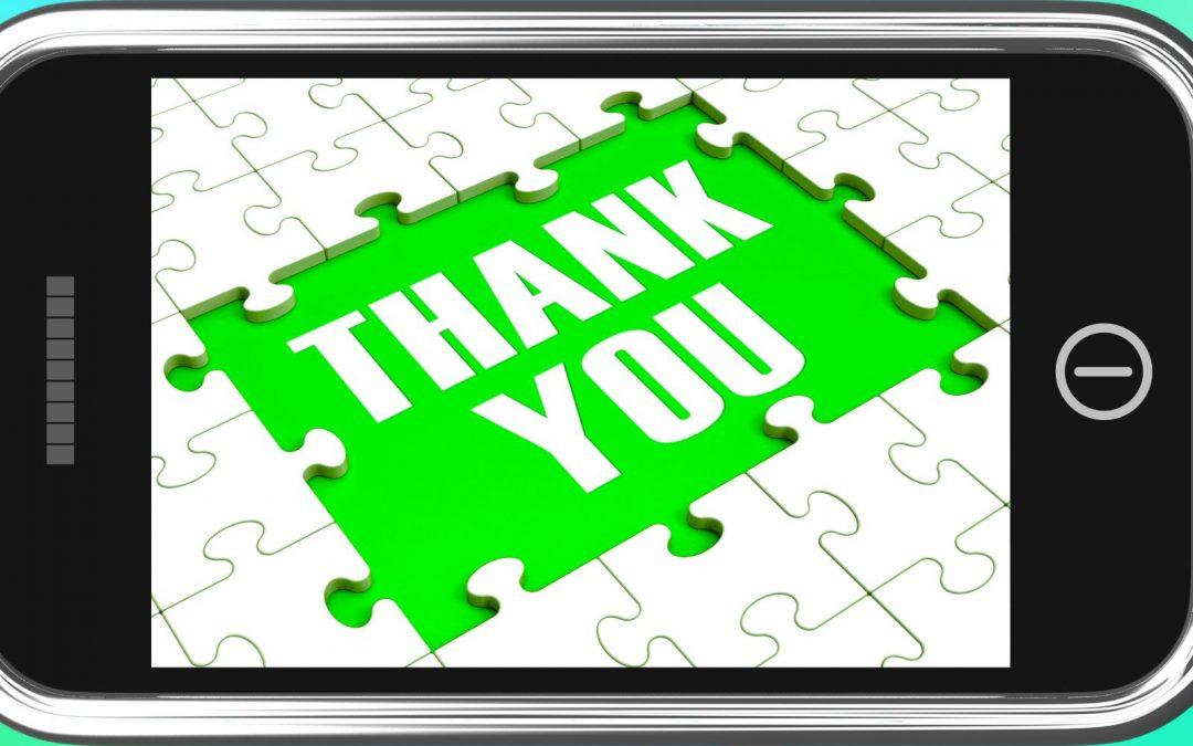 9) We're Grateful for…