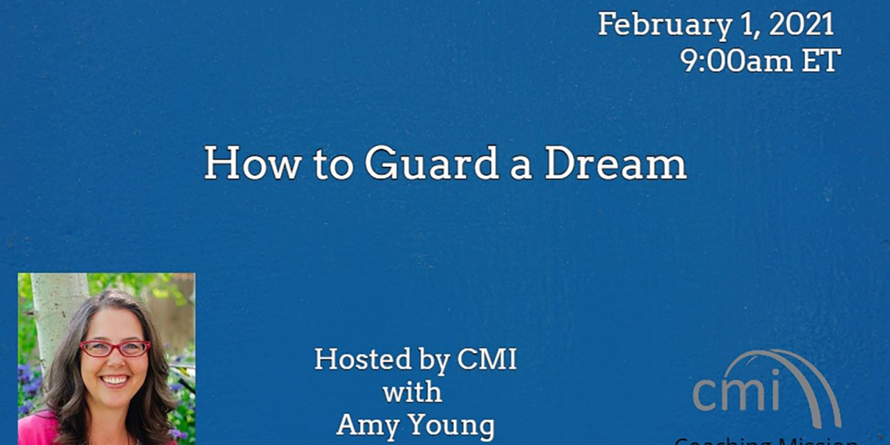 5) How to Guard a Dream