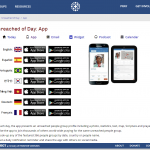 "4) ""Unreached of the Day"" App to Add Mandarin"