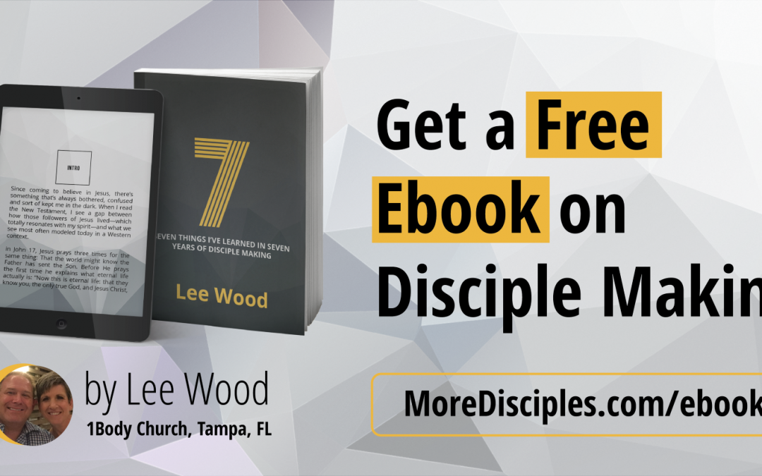 4) Relaunch of The More Disciples Podcast