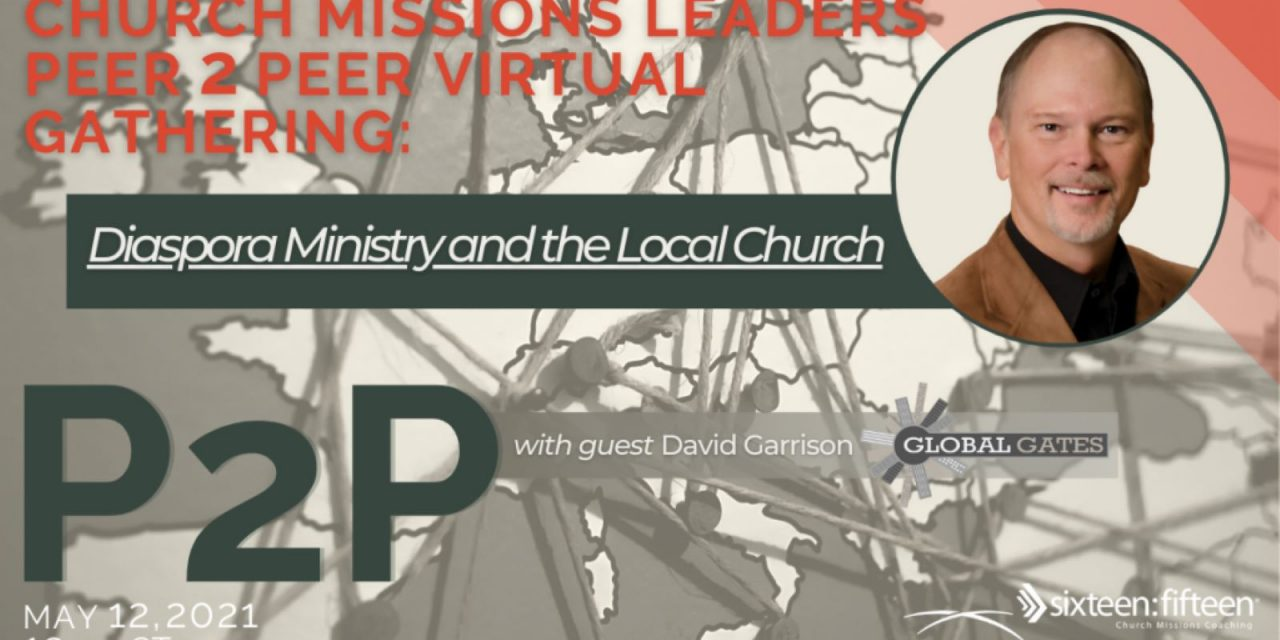 6) Get Your Church Involved in Reaching Internationals (Webinar)