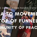 """2) Media to Movements """"Top of Funnel"""" Community of Practice"""