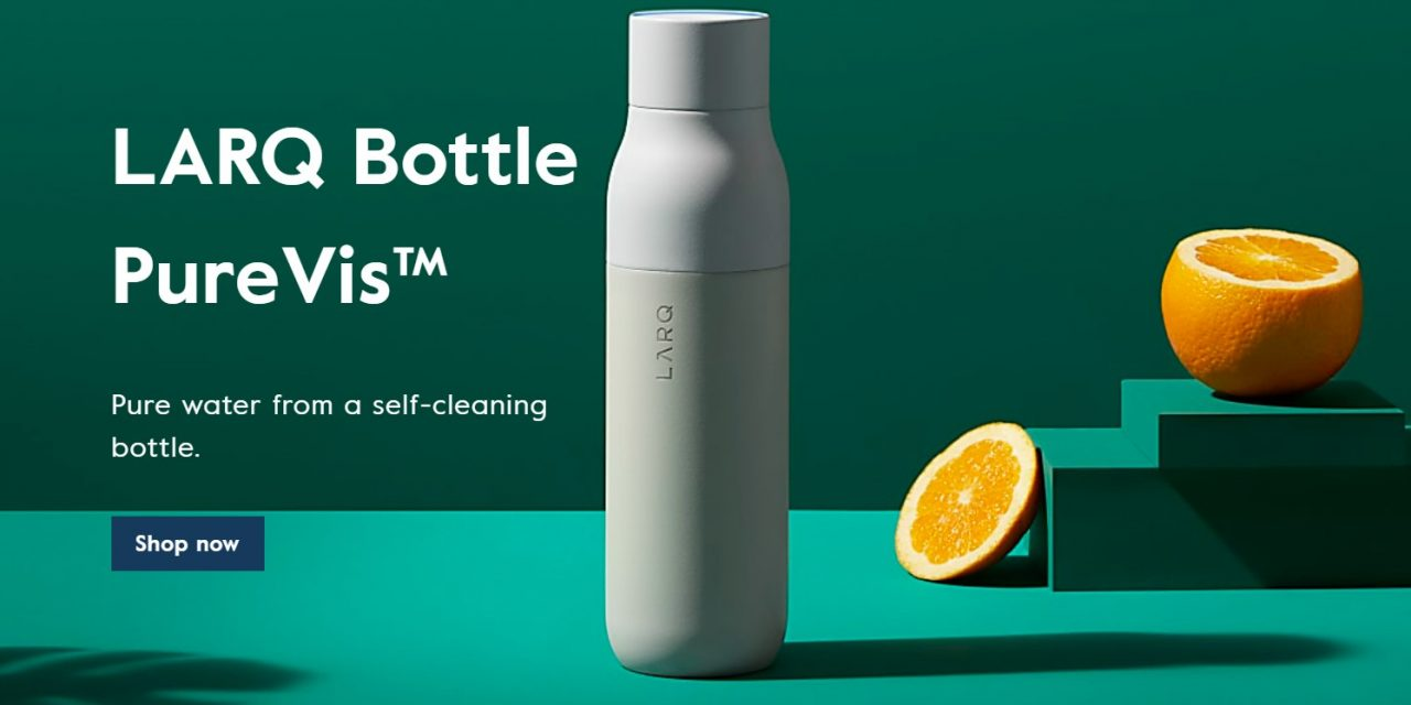 8) The Water Bottle To End All Other Water Bottles (With Built-in Filtering!)