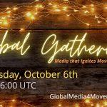 2) Media4Movements Global Gathering – Oct.6th 14:00-16:00UTC