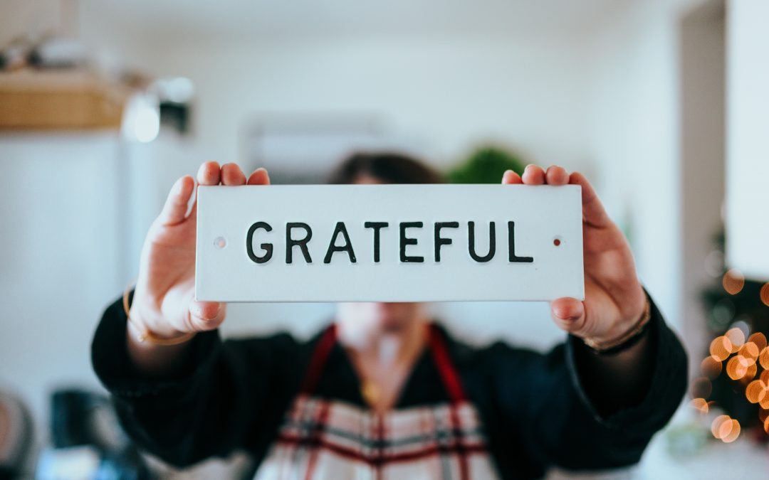 9) We are Grateful for…